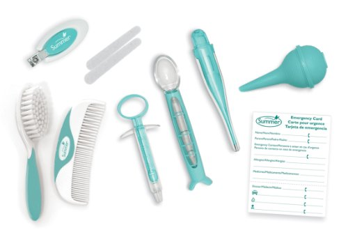 Summer Infant Health and Grooming Kit, Teal/White