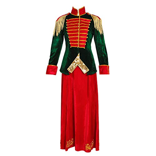 CosplayDiy Women's Suit for The Nutcracker and The Four Realms Clara Cosplay -