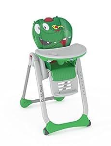 Chicco Polly 2 Star - Trona divertida y compacta, para niños de 0 a 3 años, colección 2017, diseño cocodrilo