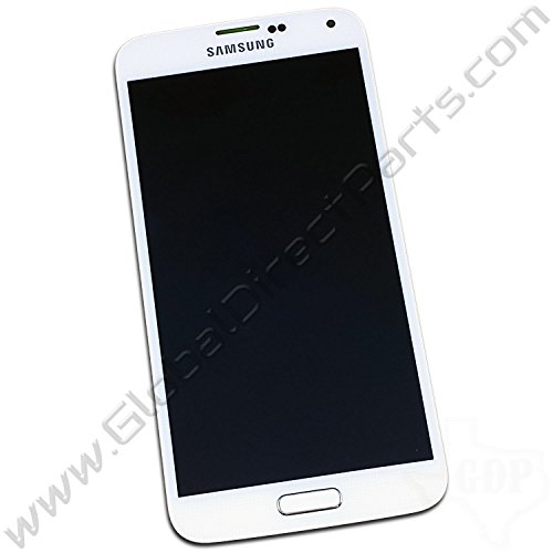 OEM Samsung Galaxy S5 AMOLED & Digitizer Assembly Including Home Button - White