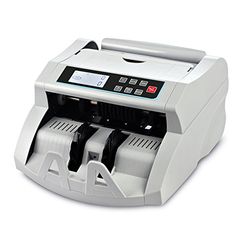 - Money Counter Machine DOMENS Bill Counter UV/MG/IR/DD Counterfeit Detection Automatic Currency Cash Counting Machine(LCD Display)