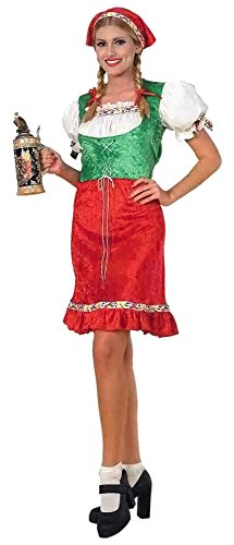 Forum Novelties Women's Gretel Costume, Multi, Standard (Adult Gretel Costume)