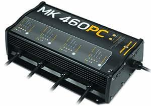 Minn Kota MK 460 PC Precision On-Board 4-Bank Charger, 15-Amp