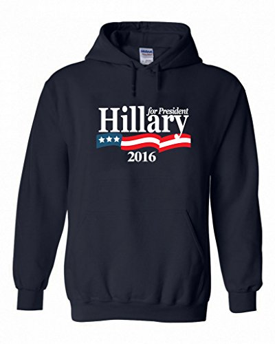"Hillary Clinton ""Hillary For President"" 2016 Hooded Sweatshirt"