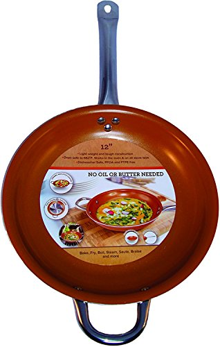 Pan 12 Inch Ceramic Titanium Copper product image