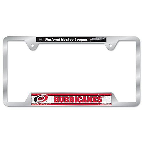 WinCraft NHL Carolina Hurricanes Metal License Plate Frame
