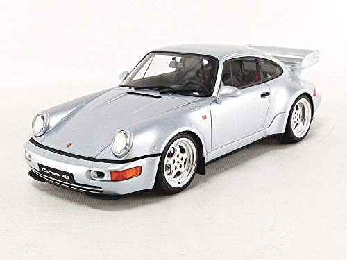 GT Spirit Porsche 911 964 Carrera RS 3.8 Polar Silver Limited Edition to 999 Pieces Worldwide 1/18 Model Car GT735