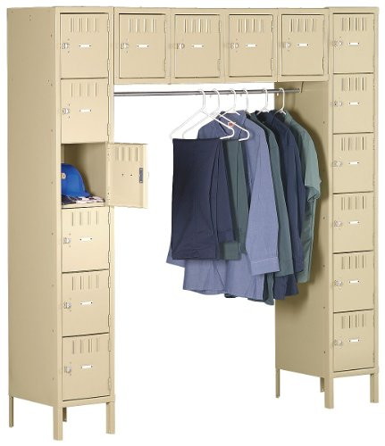 Price comparison product image Assembled Locker,  16 Person,  W 78,  D18