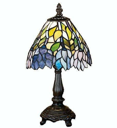 Wisteria Tiffany Floral Mini Table Lamp