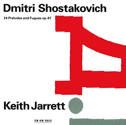 Cover of Dmitri Shostakovich: 24 Preludes & Fugues, op. 87