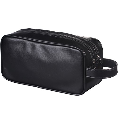 HappyDavid Leather Zipped Travel Toiletry product image