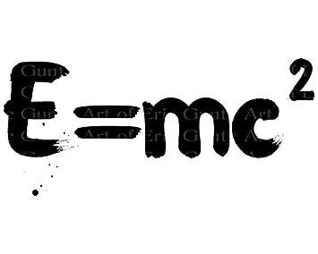 E=MC2 Tarta Cumpleaños Ciencia Química – Comestible ...