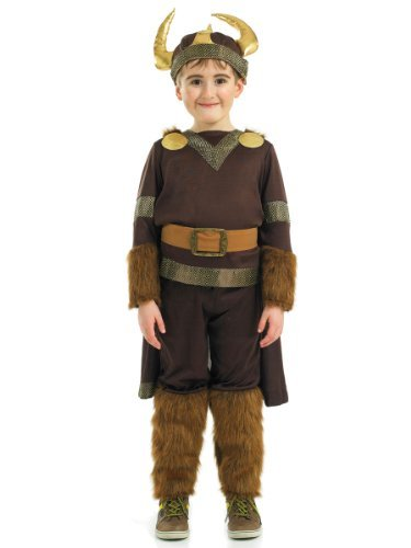 Fun Shack Child Deluxe Viking Warrior Costume - AGE 10 - 12 YRS (XL) by Fun Shack