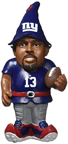 New York Giants Beckham O. #13 Resin Player Gnome (New York Giants Best Players)