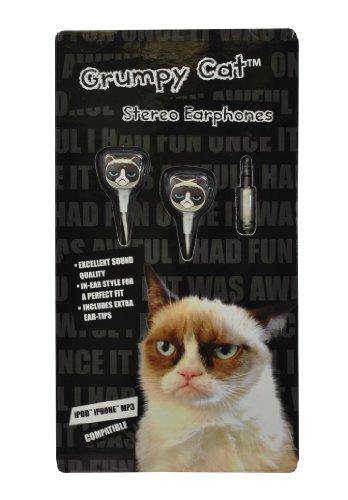 Grumpy Cat GC EP 01 Earphones Multicolored product image