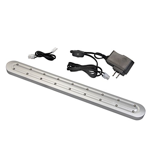 Amertac LED316KBCC LED Plug-in Cabinet Light, Nickel from AmerTac