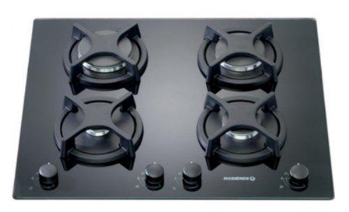 Rosieres RTV 640 FPN Plaque de Cuisson Gaz Intégrable 59,5 cm Perle Noir eeb62d50c933