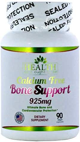 Calcium Free Bone Support 90 Capsules Ultimate Bone and Cardiovascular Protection, Physician Formulated