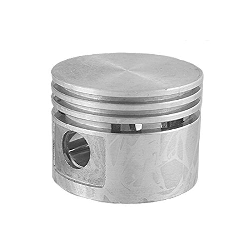 Silver Tone 48mm Diameter Engine Piston Spare Part for Air Compressor: