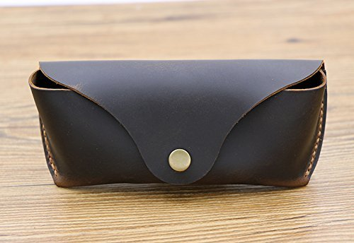 01fe67d6bda Amazon.com  Eyeglass Case Leather