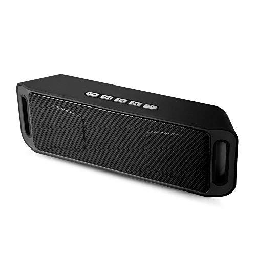 SEEDARY Altavoz bocina portátil Bluetooth, Bocina Radio FM Manos Libres inalámbrica Graves mejorados para Exteriores con...