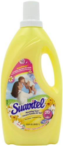 Suavitel Fabric Softener, Morning Sun, 33.8 Ounce ()