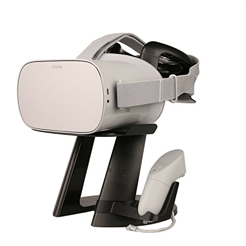 Stasmart Vr Stand  Virtual Reality 3D Glass Headset Display Holder  Vr Headset Station For Oculus Go Headset