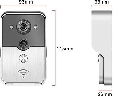ALEKO® HL3501 WIFI Wireless Visual Intercom Smart Doorbell for Smartphones and Tablets