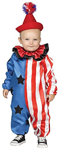 Happy Clown Toddler Costume - Toddler Small