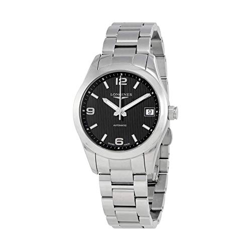 Longines Conquest Black Dial Automatic Ladies Watch L2.385.4.56.6