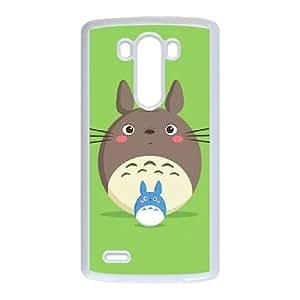LG G3 Cell Phone Case White My Neighbor Totoro EG6540626