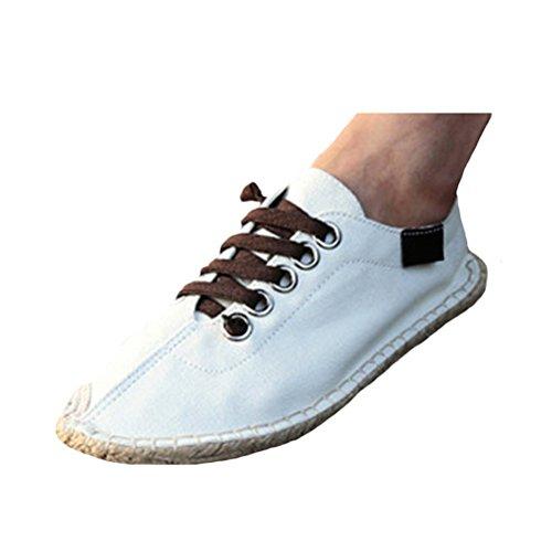 Vogstyle Canvas Schuhe Herren Sneakers Espadrilles Beige
