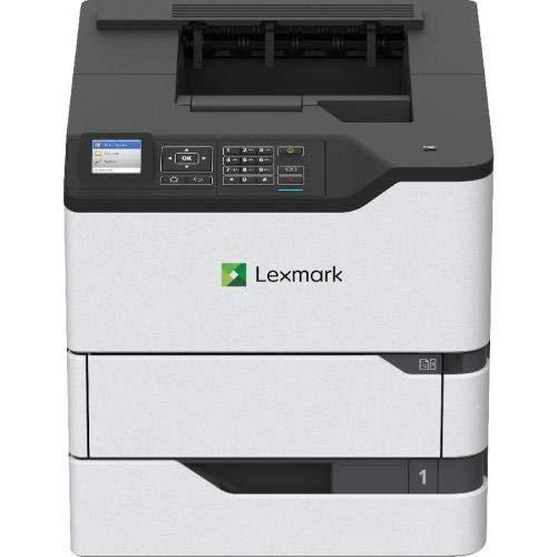 Lexmark MS820 MS821dn Laser Printer - Monochrome - 1200 x 1200 dpi Print - Plain Paper Print - Desktop - 55 ppm Mono Print - A6, Oficio, Envelope No. 7 3/4, Envelope No. 9, B5 (JIS), A4, Legal, A5, Le (A4 Desktop Laser)