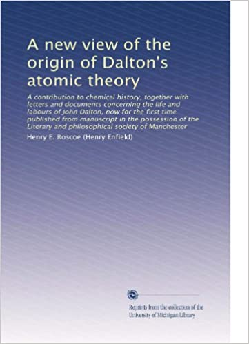 john dalton contribution to chemistry