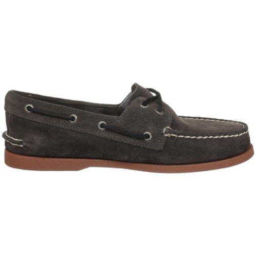 Sperry Top-sider Zapatillas Náuticas Para Barcos A / O Dark Brown Suede