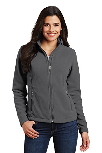 Port Authority L217 Ladies Value Fleece Jacket - Iron Grey - Medium