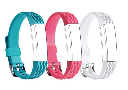 For Fitbit Alta, TreasureMax Replacement Band with Watch Buckle for Fitbit Alta/ Fitbit Alta Bands/ Fitbit Alta Wristband/ Fitbit Wristband/ Fitbit Alta Accessory Band/ Fitbit Alta band (No Tracker) (Small Buckle)