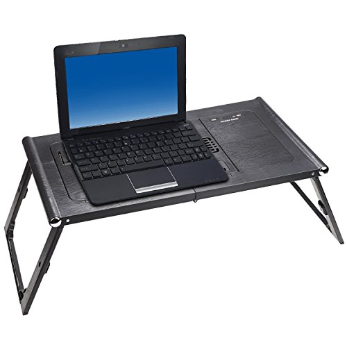 Adjustable Smart Table Folding Laptop Table with Built-in Rechargeable Power Bank and 2USB Ports by Dtemple (Image #6)