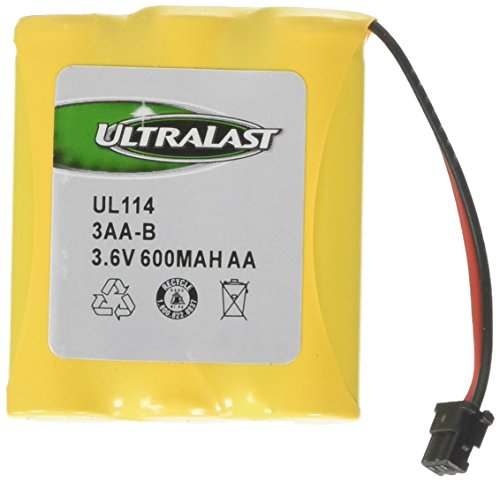 Ultralast UL-114 Cordless Phone Battery for Cobra, Panasonic, Sharp, Sony and Uniden