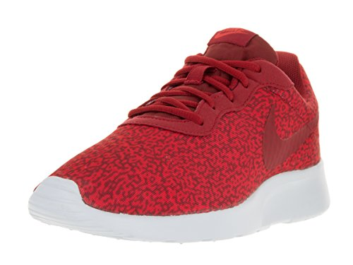 Red Nike De action white Rouge Red blanc Red Running Entrainement Tanjun Homme Chaussures gym gym Print qHHTUv