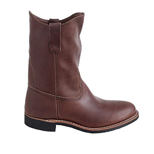Red Wing Womens Pecos 3468 Amber Leather Boots 7.5 US
