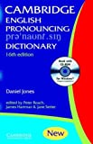 English Pronouncing Dictionary, Daniel Jones, 0521017130