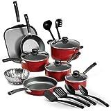Tramontina PrimaWare 18-Piece Nonstick Cookware Set - Gray by Tramontina USA, Inc.