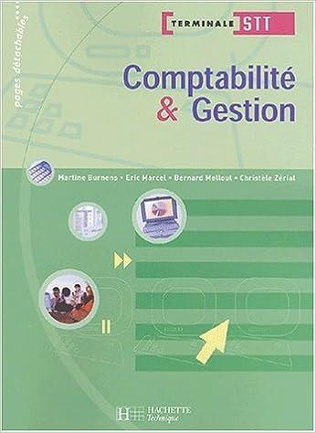 Livre gratuits en ligne Comptabilité et gestion, terminale STT (Manuel) pdf