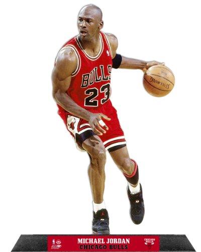 - Michael Jordan Chicago Bulls NBA StandZ® Action Photo Desktop Display