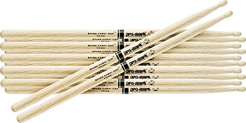 PROMARK 6-Pair Japanese White Oak Drumsticks Nylon ()