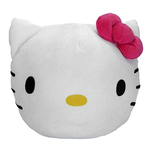 SANRIO Hello Kitty, Kitty Clouds 3D Ultra Stretch Cloud Pillow, 11