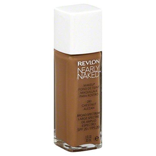 Revlon Nearly Naked Makeup, Chestnut, 1 Oz(pack of 2)