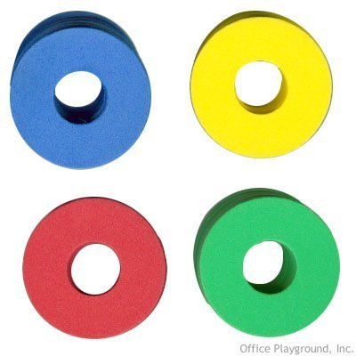 192 Soft & Safe Foam Disc Shooter Refills for Shooter Saucer Launcher Gun Toy (Foam Shooter Gun)