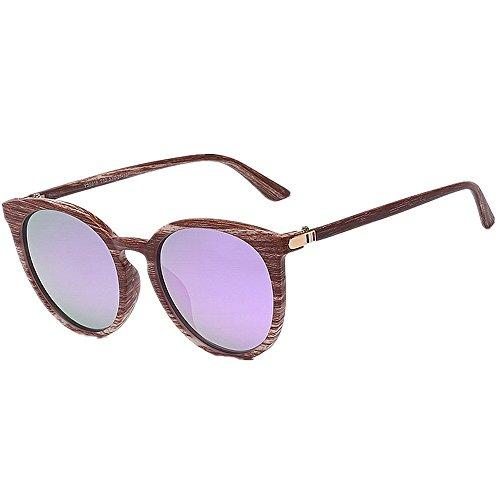 4e2e5a71b8 Peggy Gu Tiras de marco Cat Eyes Style Gafas de sol para mujer Lente  polarizada Protección